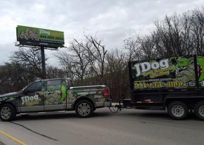 JDog billboard