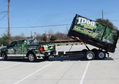 JDog dump trailer