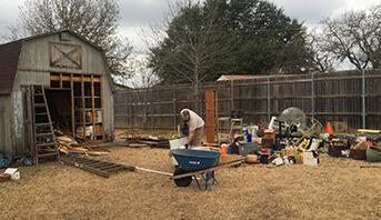 Yard Debris Removal - Services - JDog Junk Removal & Hauling