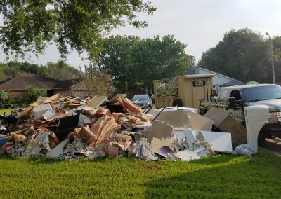 Houston disaster relief project